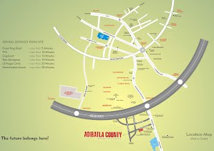 Aerospace County Route Map